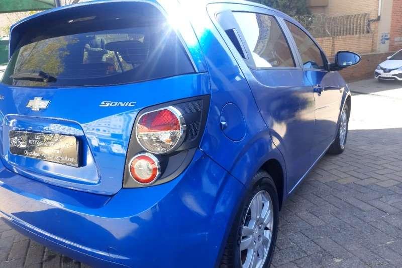 Used 2013 Chevrolet Sonic hatch 1.4 LS