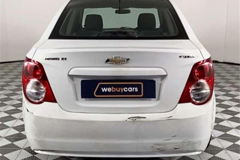 2012 Chevrolet Sonic Sonic hatch 1.6 LS
