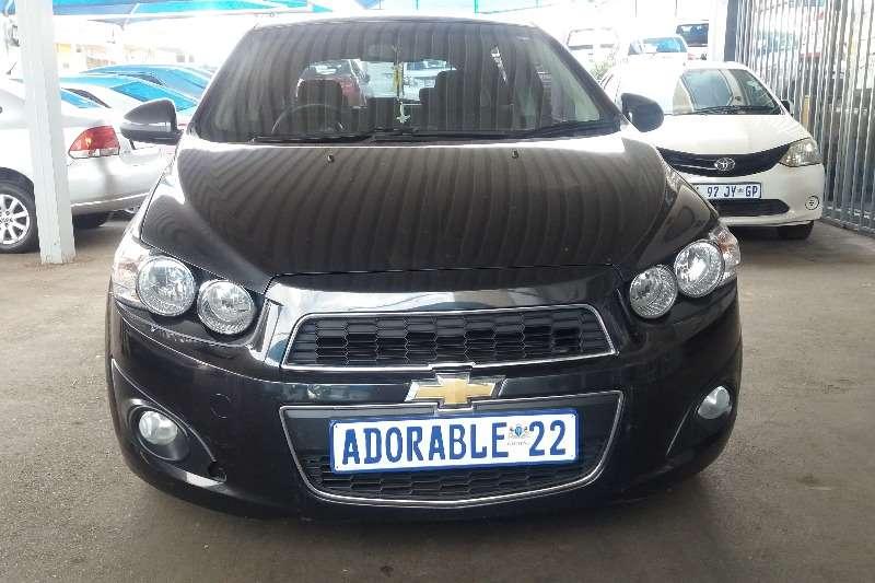 2013 Chevrolet Sonic hatch 1.3D LS