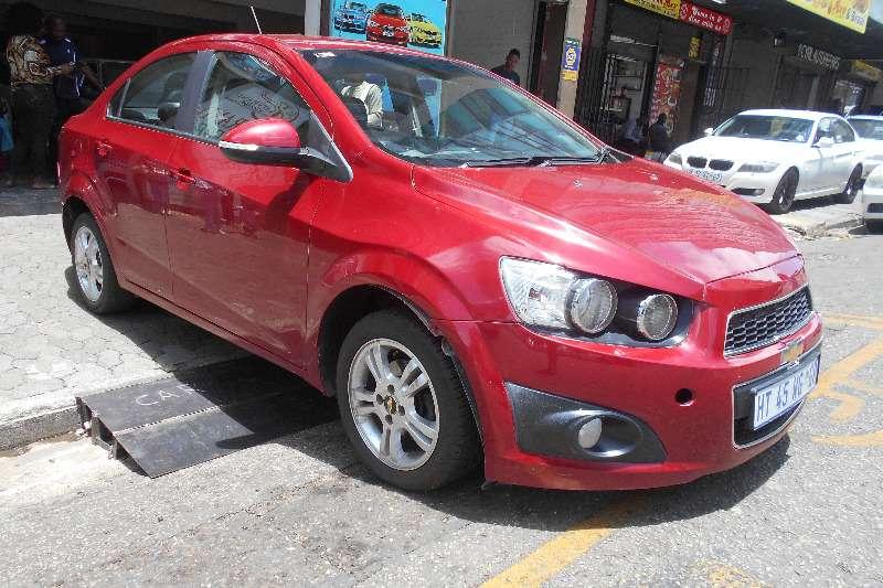 2013 Chevrolet Sonic sedan 1.4 LS
