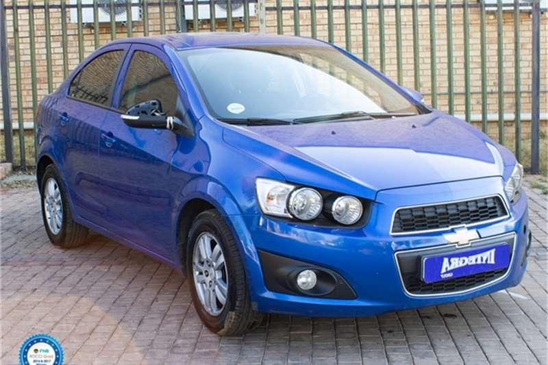 2014 Chevrolet Sonic sedan 1.6 LS