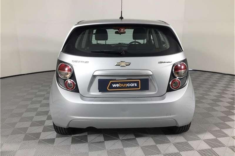 2012 Chevrolet Sonic hatch 1.6 LS