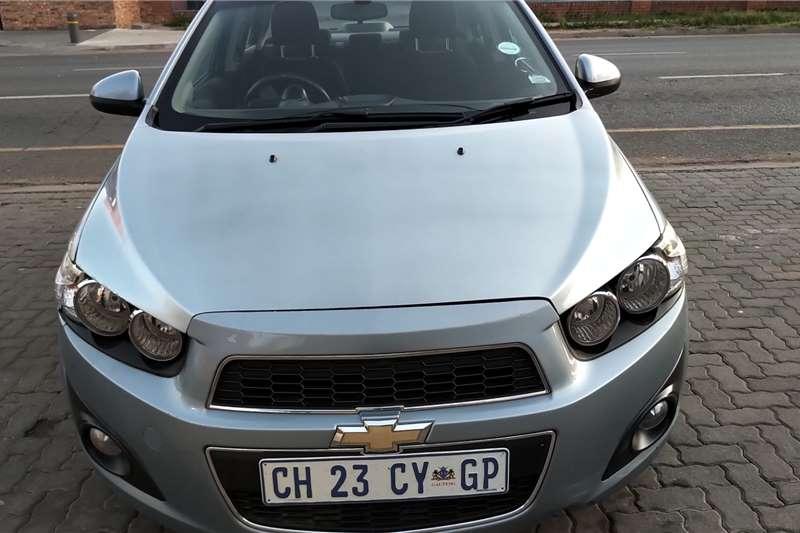 Chevrolet Sonic sedan 1.4 LS 2013