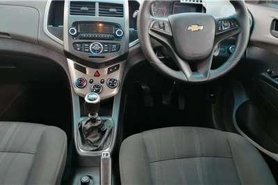 Used 2014 Chevrolet Sonic sedan 1.4 LS