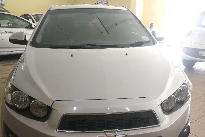 Chevrolet Sonic sedan 1.6 LS 2013