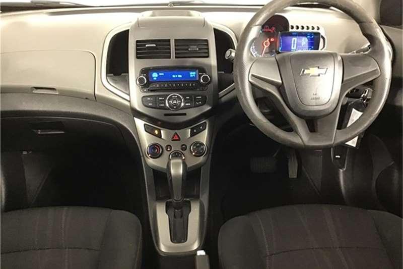 Chevrolet Sonic sedan 1.6 LS auto 2012