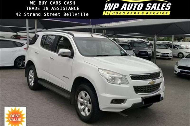 2013 Chevrolet TRAILBLAZER Trailblazer 2.8D LTZ auto