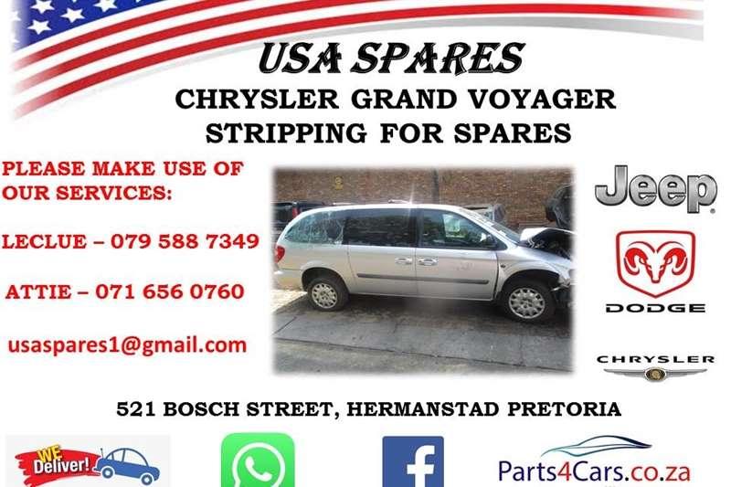 Chrysler Grand Voyager 2.8CRD Limited 2002
