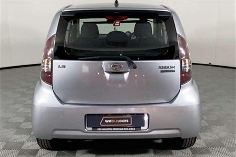 2007 Daihatsu Sirion Sirion 1.3 Sport automatic