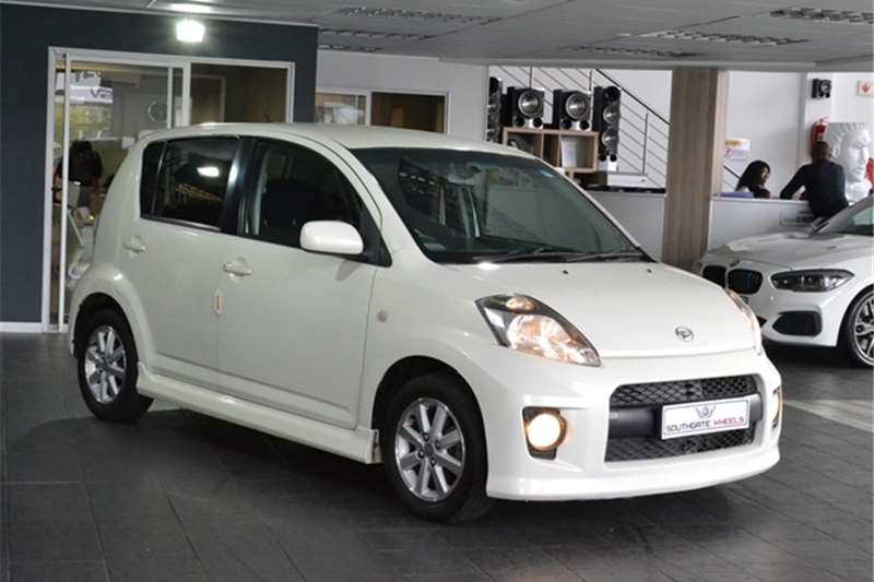 2008 Daihatsu Sirion 1.3 automatic