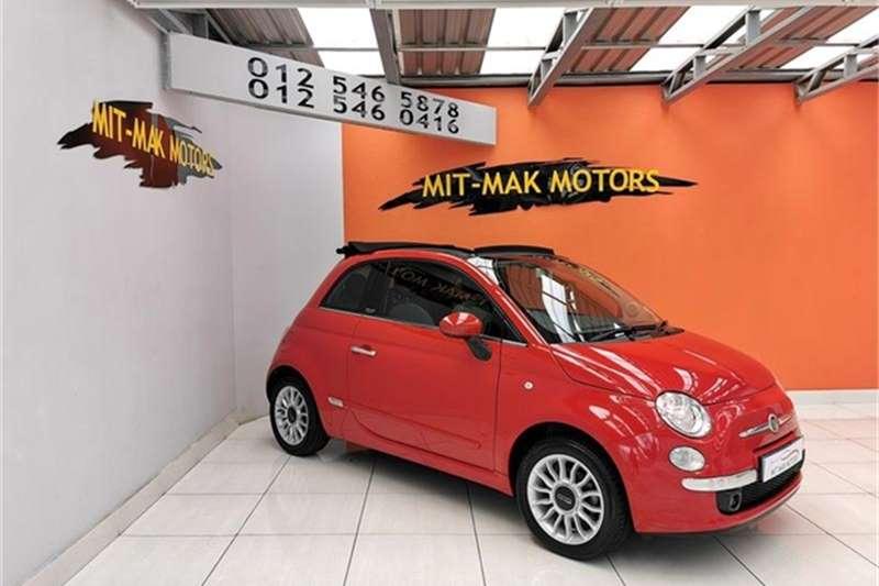 2014 Fiat 500 C 1.4 Lounge