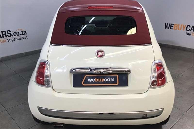 Fiat 500 S Cabriolet 1.4 2013