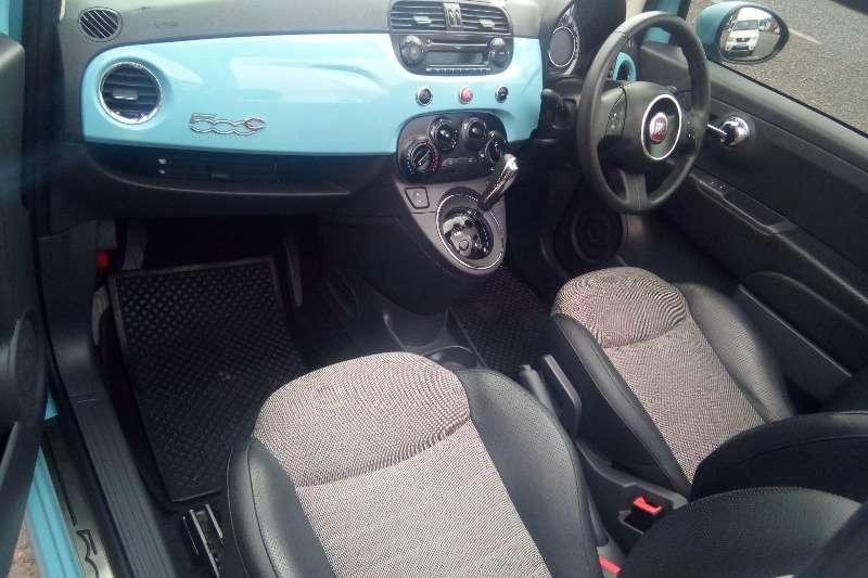 Fiat 500 S cabriolet 1.4 auto 2012