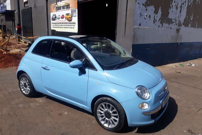 2012 Fiat 500C 500 900T TWINAIR LOUNGE CABRIOLET
