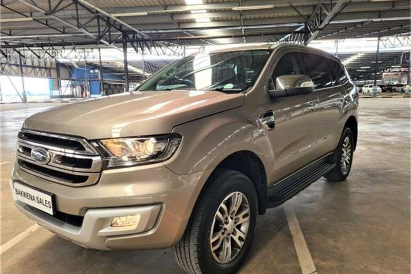 2017 Ford Everest Everest 2.2 XLT auto