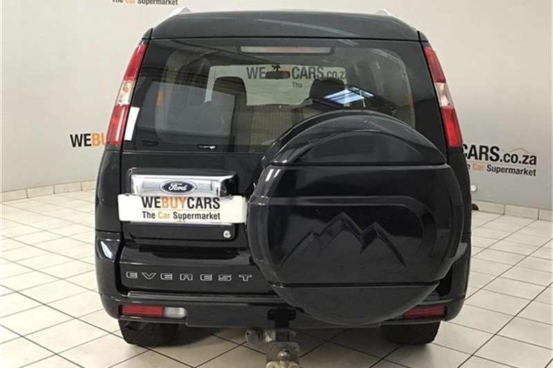 Ford Everest 3.0TDCi 4x4 LTD 2011