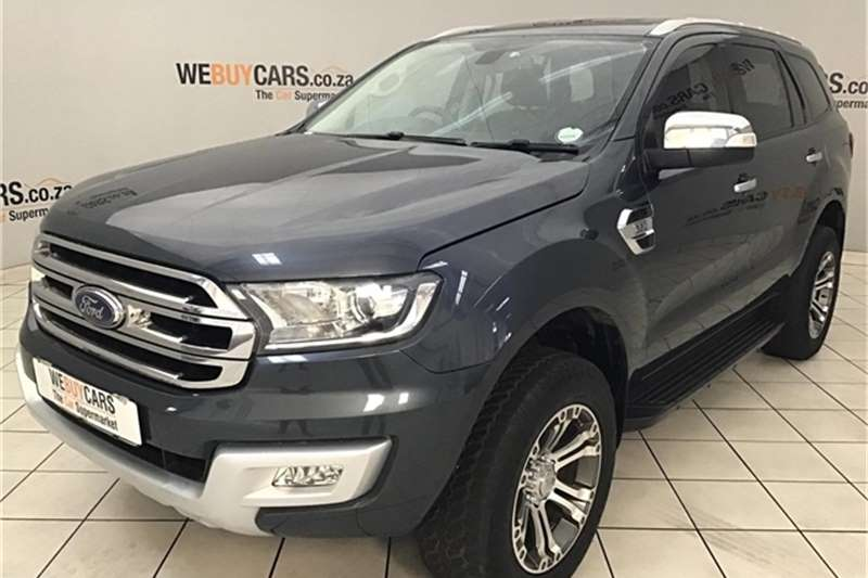 Ford Everest 3.2 4WD XLT 2016