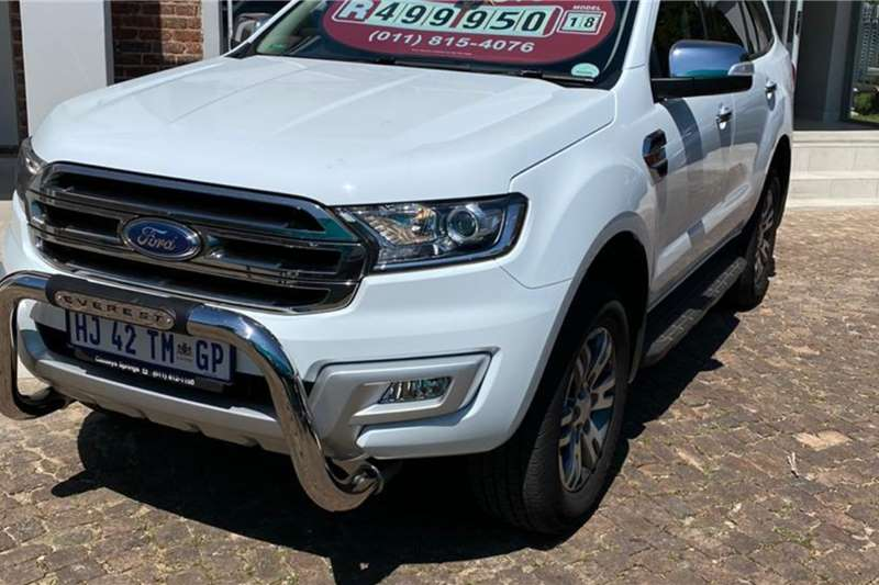 Ford Everest 3.2 XLT 4X4 A/T 2018
