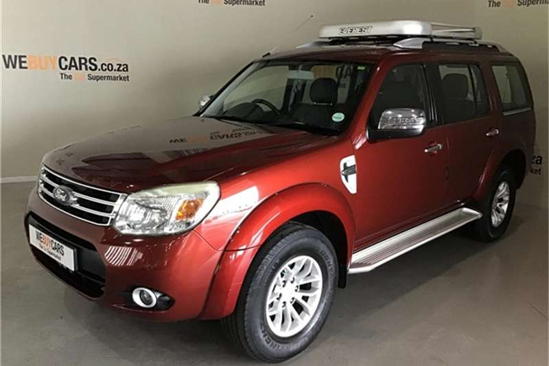 2013 Ford Everest 3.0TDCi XLT