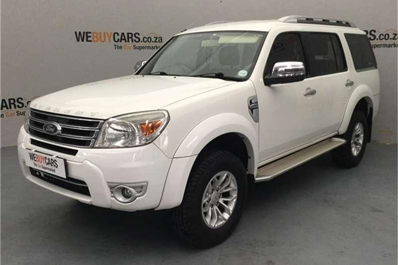 2012 Ford Everest 3.0TDCi XLT
