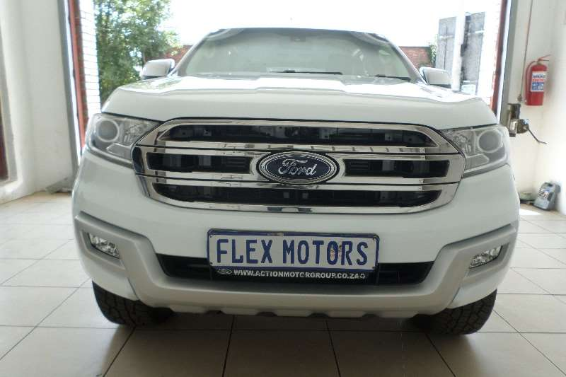 2017 Ford Everest 2.2 XLT auto