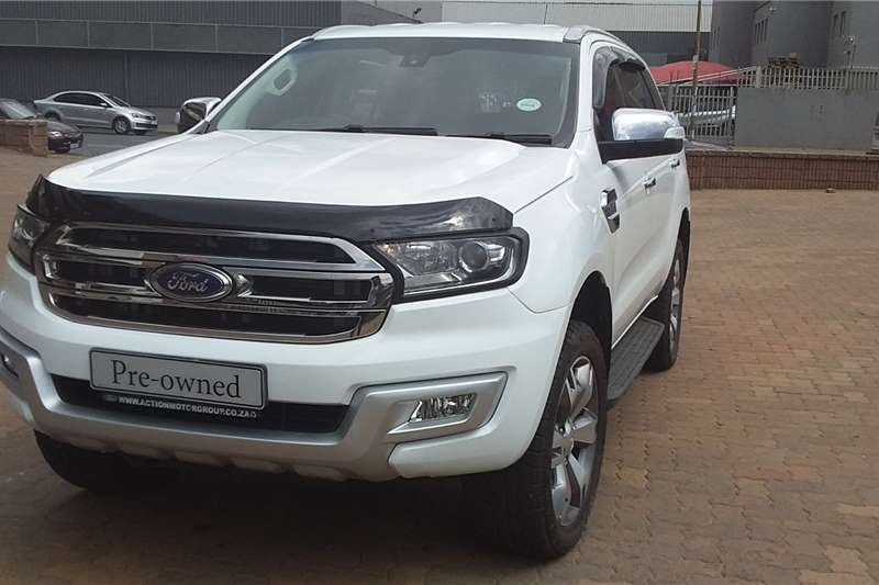 2017 Ford Everest 2.2 XLS auto