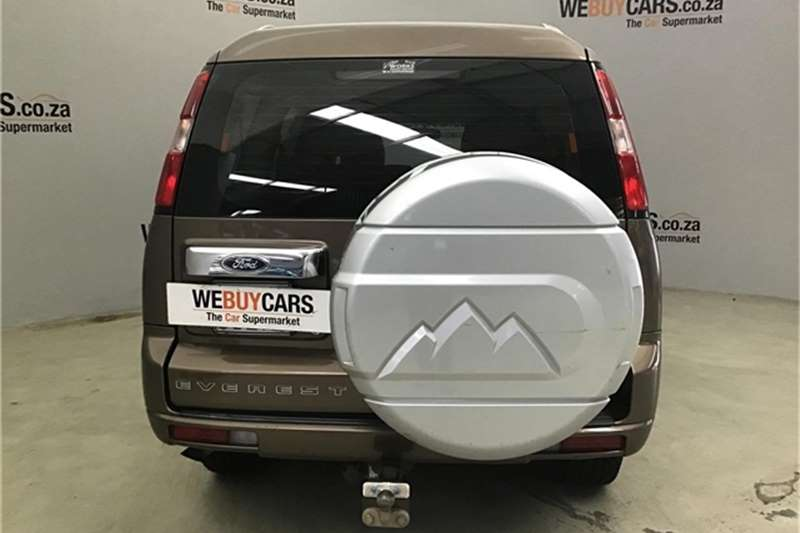 2011 Ford Everest 3.0TDCi XLT