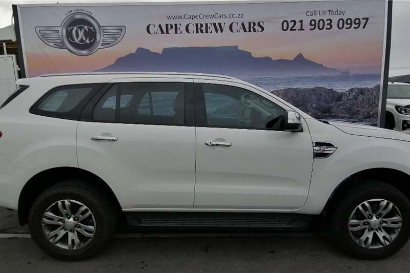 2016 Ford Everest EVEREST 3.2 TDCi XLT 4X4 A/T