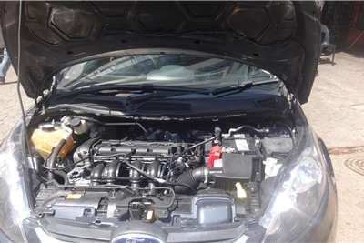 2009 Ford Fiesta Fiesta 1.4 3-door Titanium