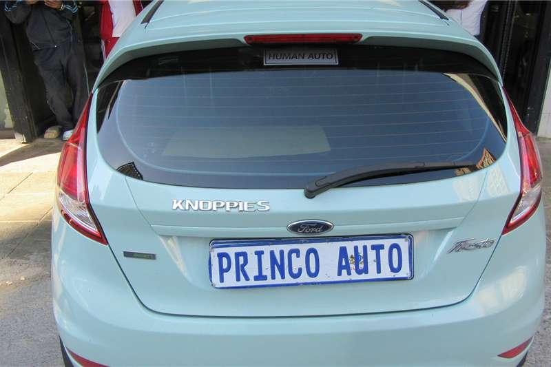Ford Fiesta 1.4 Ecoboost 2017