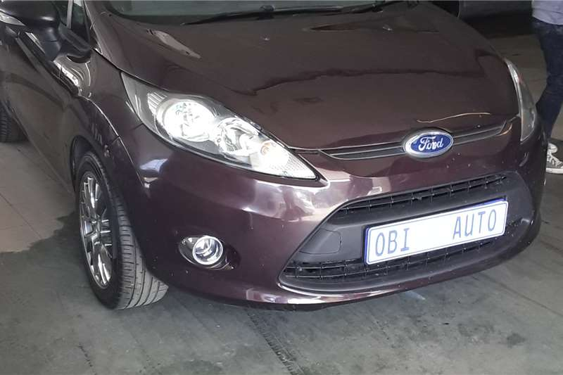 Ford Fiesta 1.4i 5 door 2012