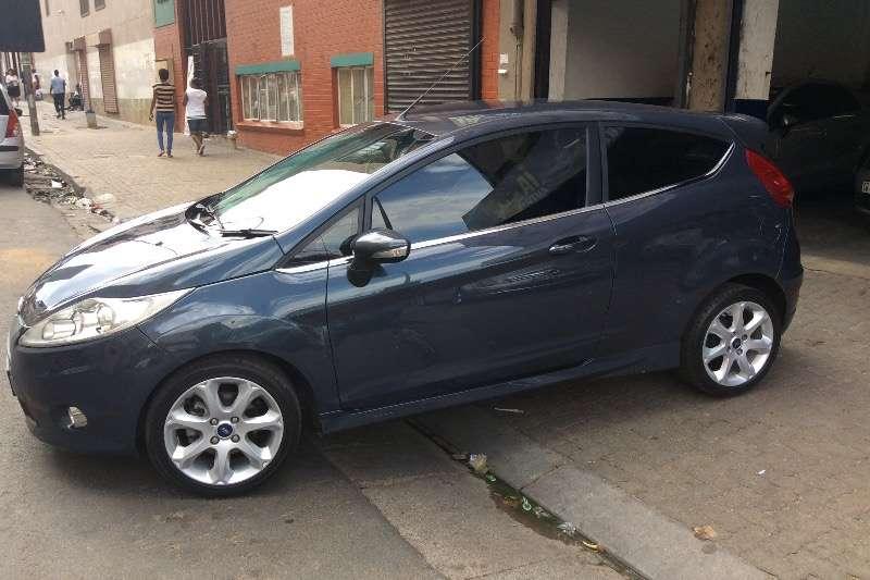 Ford Fiesta 1.6 3 door Titanium 2012