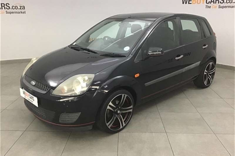 Ford Fiesta 1.6i 5 door Ambiente automatic 2008