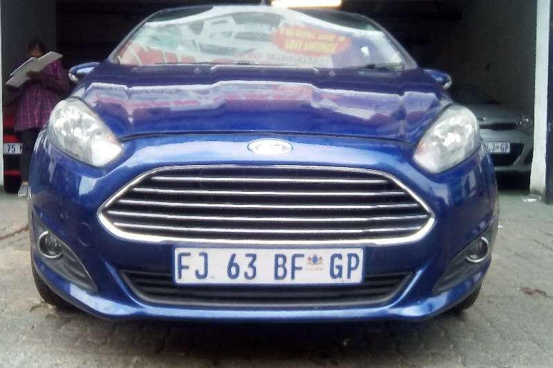 Ford Fiesta 5 door 1.0T EcoBoost 2015