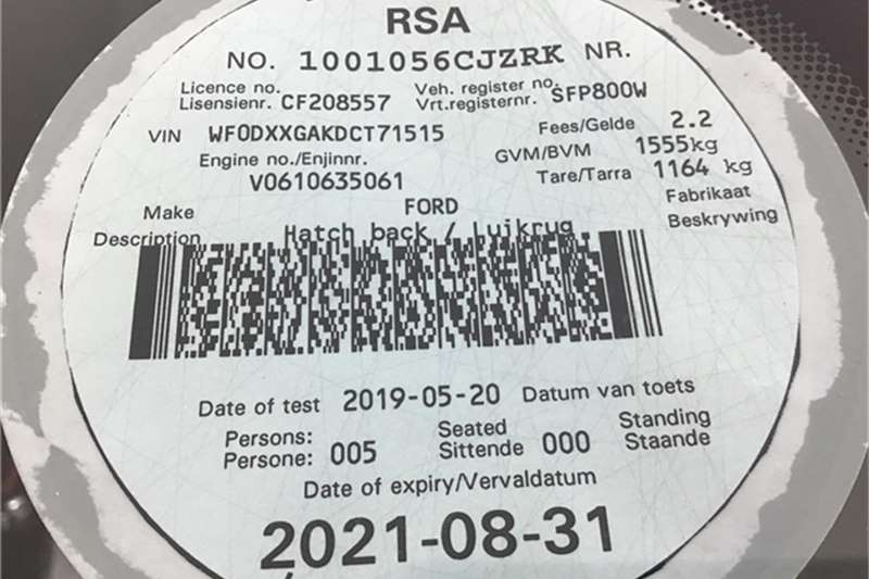 Ford Fiesta 5-door 1.0T Titanium 2013
