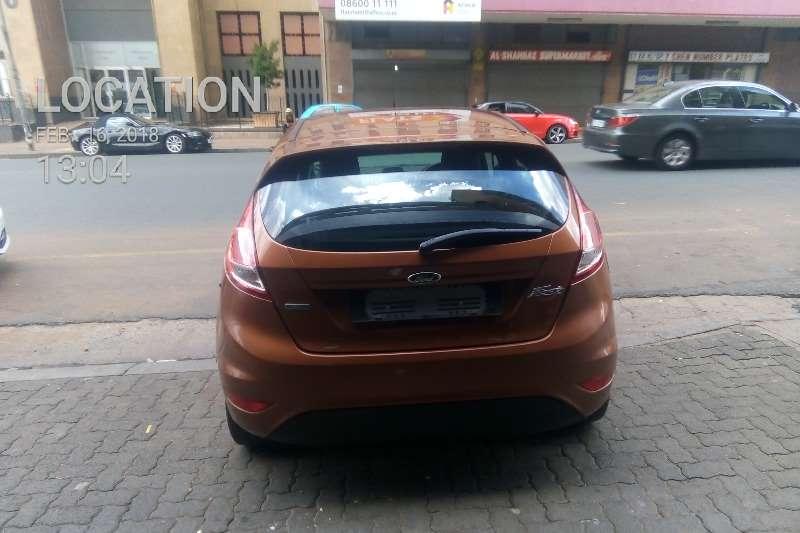 Ford Fiesta 5 door 1.0T Titanium auto 2014