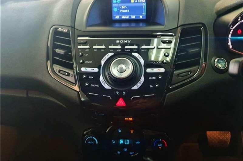 2017 Ford Fiesta Fiesta 5-door 1.0T Titanium auto