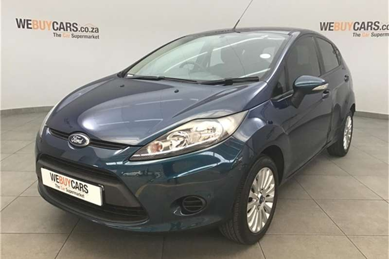 Ford Fiesta 5-door 1.4 Trend 2012