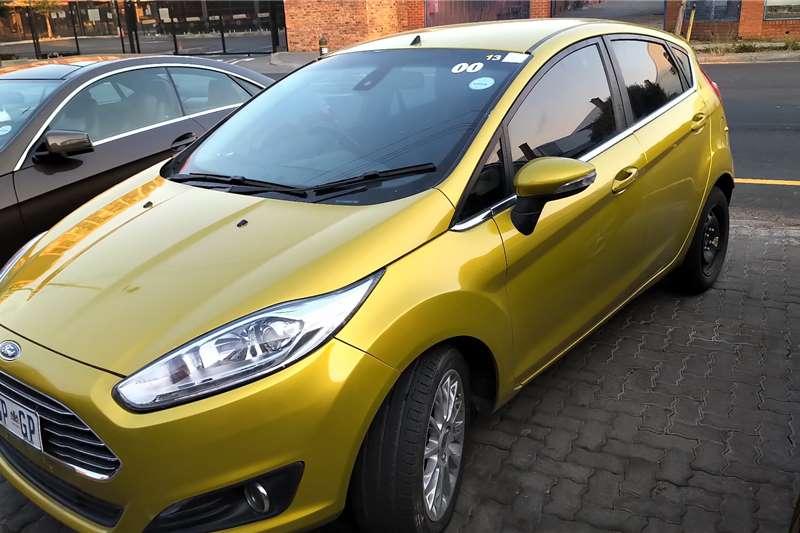 Ford Fiesta Hatch 5-door FIESTA 1.0 ECOBOOST TITANIUM 5DR 2014