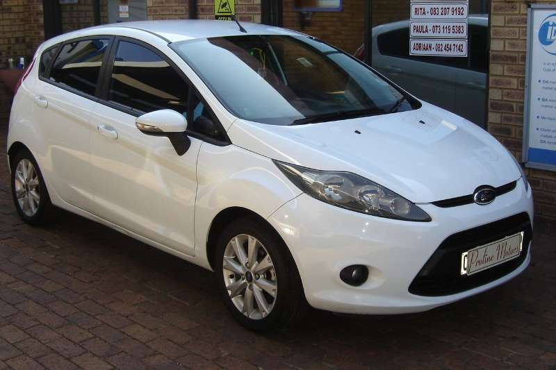 2013 Ford Fiesta 5 door 1.6 Trend