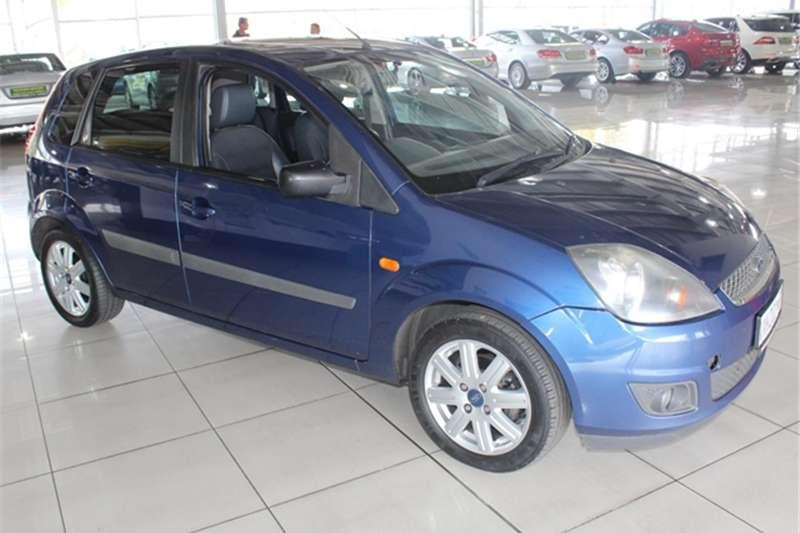 2007 Ford Fiesta 1.6i 5 door Ghia