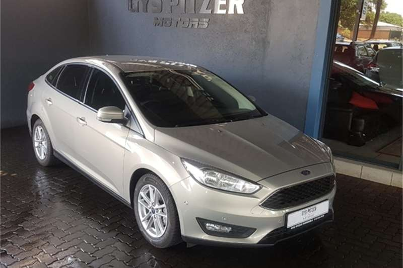 2016 Ford Focus sedan 1.0T Trend auto