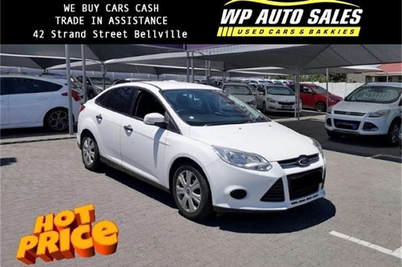 2012 Ford Focus sedan 1.6 Ambiente