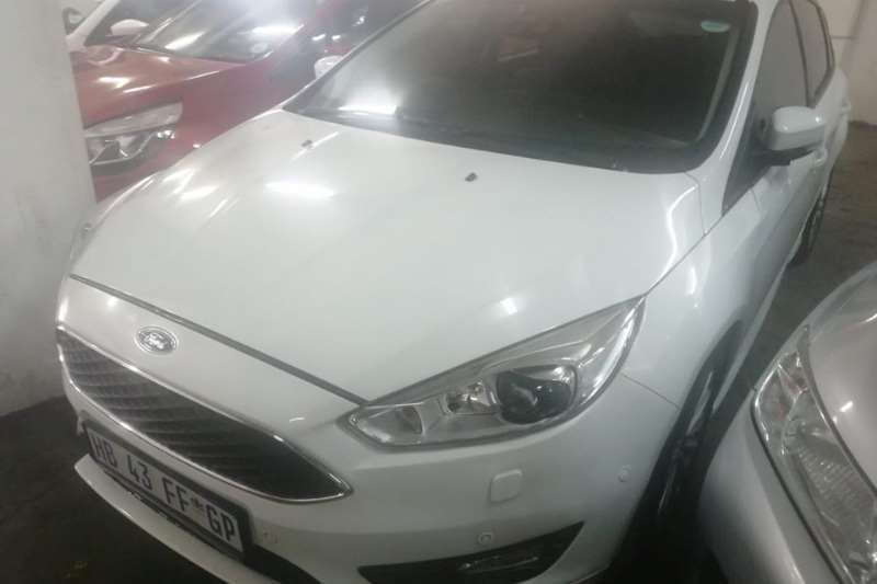 Ford Focus ST 3 door (leather + sunroof + techno pack) 2017