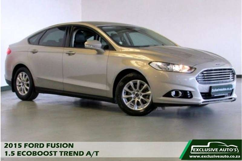 2015 Ford Fusion 1.5T Trend