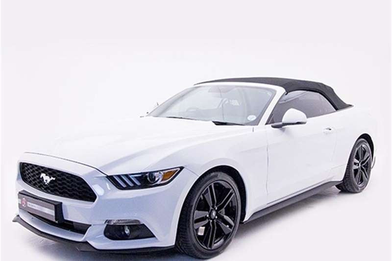 Ford Mustang 2.3 Ecoboost L1 Convertible At 2017