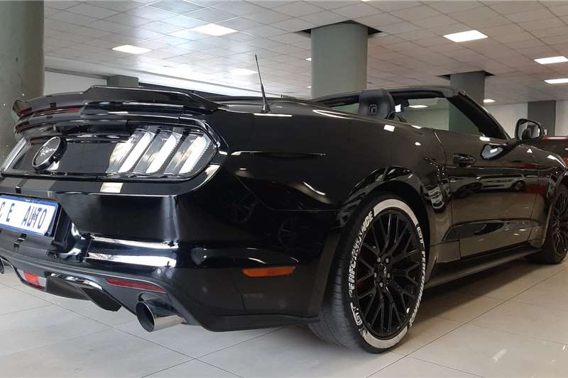 Used 2017 Ford Mustang 2.3T convertible auto