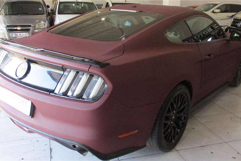 Ford Mustang 2.3T fastback auto 2018