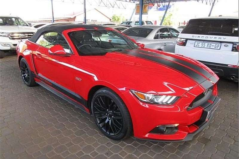 Ford Mustang 5.0 GT Convertible Auto 2016