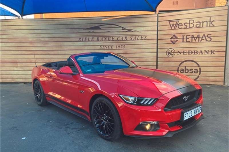 Used 2017 Ford Mustang 5.0 GT convertible auto